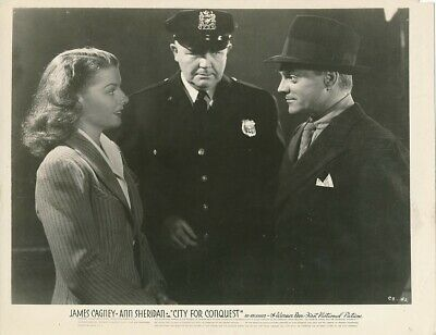 JAMES CAGNEY ANN SHERIDAN Vintage CITY FOR CONQUEST Warner Bros. Studio Photo