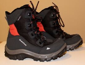 Quechua Kids Snow Boots size 11.5 UK