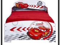 Disney cars toddler bed with mattress