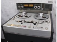 WANTED STUDER REEL TO REEL C37 A62 B62 B67 A80 ETC