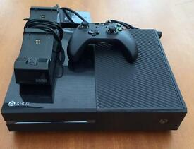 Xbox One with controller & charger