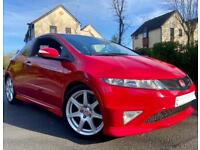 2008 57 HONDA CIVIC FN2 GT TYPE R - HPI CLEAR - 2 KEYS - FSH - 130k MILES - 2 OWNERS - MILANO RED