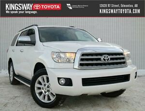 2010 Toyota Sequoia 4WD 5.7L Platinum Edition