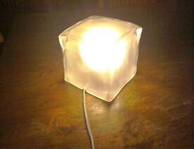 Retro IKEA Retired Ice cube lamp.