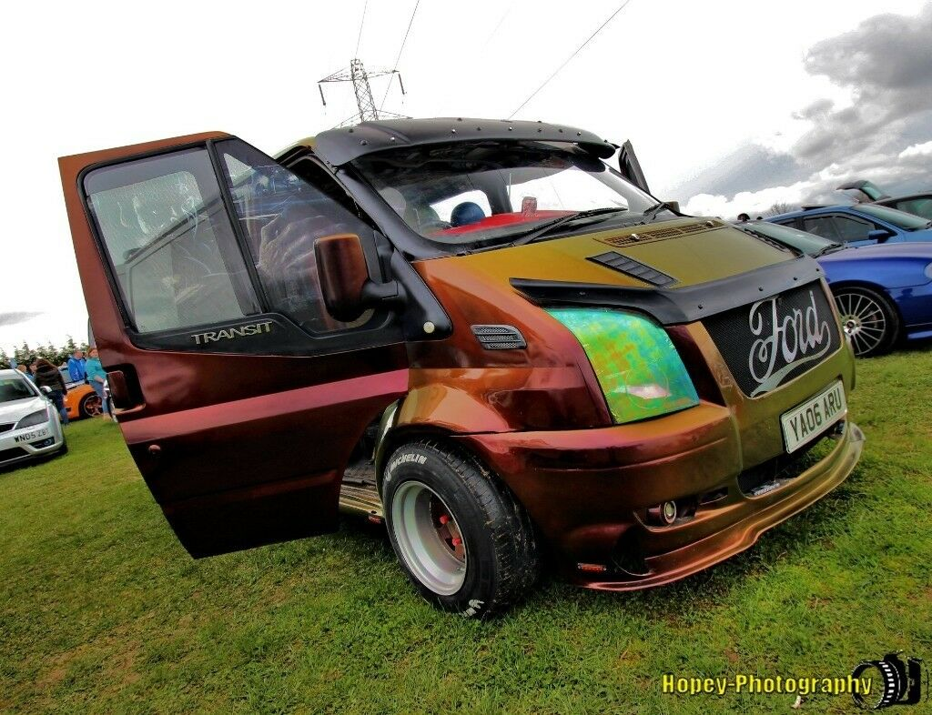 Ford Transit Marvel Camper 1 Off Show Van 2 Birth Modified