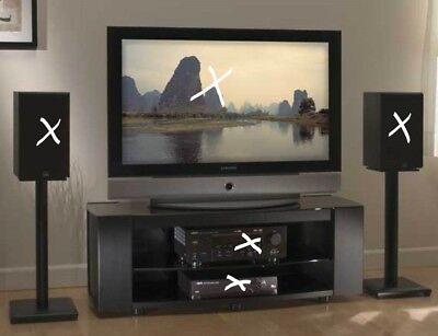 SANUS Foundations Platinum Series PFV47  Widescreen TV -