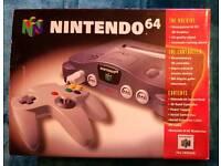 N64 + Zelda boxed complete VGC