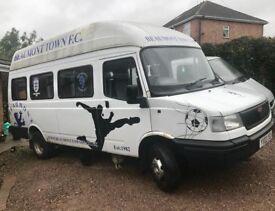 15 seater LDV minibus