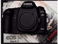 Canon EOS 5D Mark II 21.1 MP DSLR Camera - 1080p - Body Only