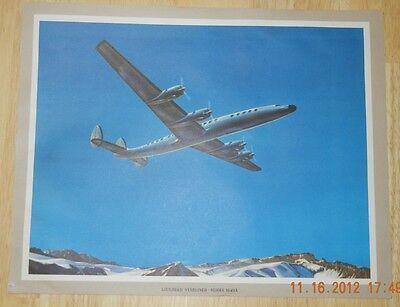 Foto-ak-lockheed Starliner 1649a Flugzeug Airplane- Ansichtskarten