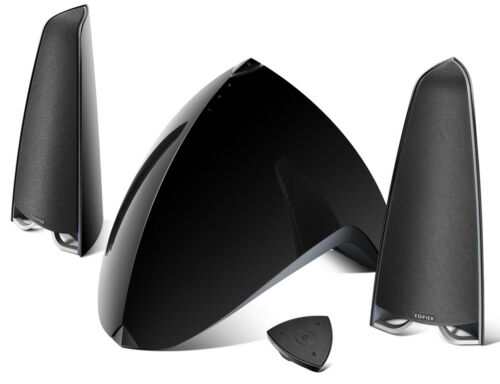 Edifier Prisma Encore e3360BT 2.1 Bluetooth Computer Speakers (3-Piece) Gloss Black 4001024