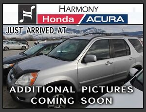 2002 Honda CR-V 4WD EX Auto w/Leather