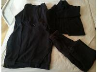 Navy blue uniform joggers and jumpers age 5-6 years