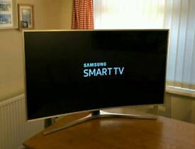 49in Curved Samsung 4K HDR UHD LED Smart TV