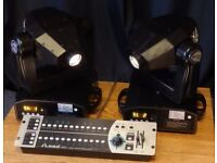 iMove IM5 Moving Head DJ / Band Lights & DMX Controller