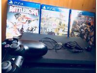 Sony Playstation 4 Slim 500gb + 3 games Bundle BARGAIN