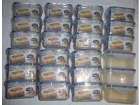 Storage Boxes x 24 – Lock & Lock – Craft Storage etc…