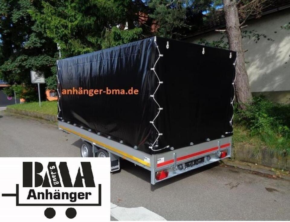 EDUARD Multitransport Anhänger 2700kg 4x2x1,80 mit Hochplane in Tannheim