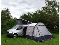 VW Campervan-Silver-LWB-T32-Seats 5-Sleeps 4/5- all extras incl Vango awning to forks/knives/glasses