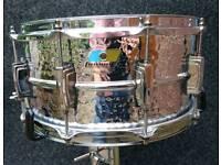 Ludwig lm402kt hammered snare drum