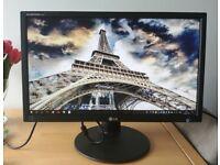 """24"""" LG E2411 LED LCD Monitor Full HD 1920 x 1080 5ms"""