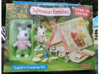 Sylvanian Families- Ingrid's Camping Set