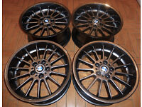 MINT R18 BMW alloy wheels * Styling 32 * Staggered * 5x120 - VERY nice colour