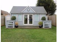 Garden summer house - brand new - £1,500 - 4m (deep) x 4.5m (wide) x 3.3m (high)