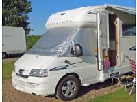Windscreen cover for Peugeot Boxer/Fiat Ducato motorhome 1994 - 2006