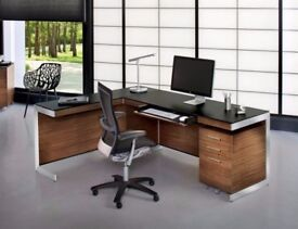 BDI Sequel Natural Walnut Office Set ( worth over £2000) for £699 only (brand new)