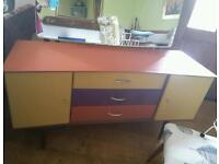RETRO STYLE DRESSING TABLE 1950-60