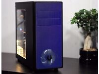 Intel i7 Gaming PC Workstation ASUS GTX 1060 16GB Ram 120GB SSD WIN10 16GB Ram Custom LED Strip