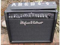 Hughes & Kettner Switchblade 50 combo guitar amplifier, valve with digital effects.