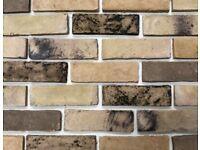 Handmade London Yellow/Buff Brick Slips/ Slip Bricks - 60m2 available