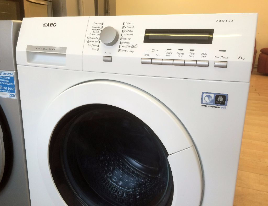 save 220 brand new aeg lavamat turbo washer dryer rrp 519 2 yrs warranty local. Black Bedroom Furniture Sets. Home Design Ideas