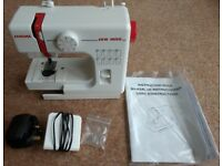 Janome Sew Mini Sewing Machine with Foot Pedal - Full Working Order