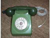 GPO Vintage Retro Telephone green - Classic 1970's model