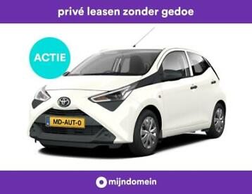 Private lease Toyota AYGO v.a. €269 p.m. all inclusief!