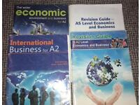 Economics and business books