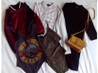 Various clothing, size S/M