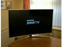 49in Samsung Curved 4K HDR UHD Smart LED TV WI-FI Freeview HD & FreeSat HD Voice CTRL Warranty