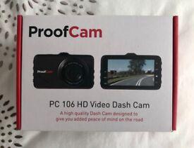 ProofCam PC 106 HD Dash Cam (new, half-price)