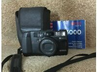 Ricoh RZ-3000 Classic Motorised Compact 35mm Film Camera with Carry Strap / Case / Manual