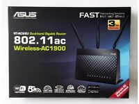 ASUS RT AC68U Wireless router, Brand new still sealed in shrink wrap never been used.