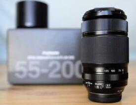 Fujifilm XF55-200mm zoom lens (Fuji XF55-200 Fujinon)
