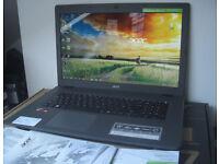 """Acer Aspire E17 AMD Quad Core 8GB 1TB Laptop Massive 17"""" 2.2-2.5ghz E5-722-89MU"""