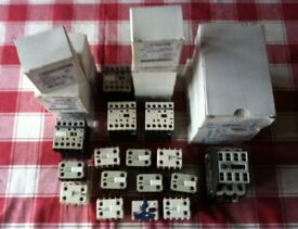 COLLECTION OF ELECTRICAL CONTACTORS - BARGAIN - £ 295 ovno