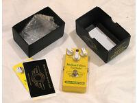 Mad Professor Mellow Yellow Tremolo analog tremolo/clean-boost pedal (boxed/complete)
