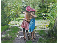 Art Commissions - People and Pets, Portraits, Scapes
