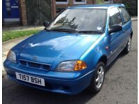 CHEAP TRADE IN SUZUKI SWIFT ONLY 45000 MILES DRIVES GREAT ONLY £400 READY TO GO!!!